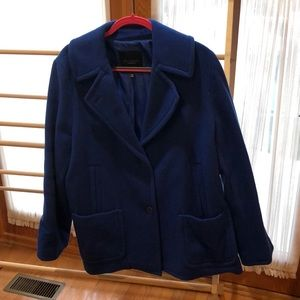 Royal Blue Pea Coat